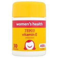 R0863 400359 Tesco Vitamin E 400Iu X 30