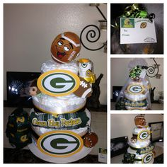 baseball cake diapers | Sports Team Diaper Cakes You Choose Team by 661kara on Etsy