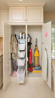 Broom Closet Organization. Saved From Houzz.com