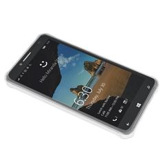 Alcatel One Touch Fierce XI 5.5 Transparent Case with Air Cushion Shock Absorption (RW)