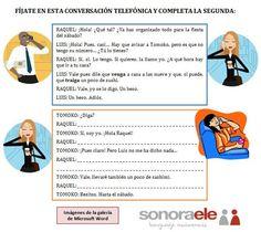 B1 - Conversaciones telefónicas (Estilo Indirecto).