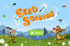 Help Nature Cat send dandelion seeds as far as you can in the Seed Soaring game! Seed Dispersal, Bees And Wasps, Cat Birthday, Nature Study, Kids Shows, Salvia, Stars And Moon, Teacher Resources, The Great Outdoors