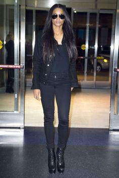 The best celebrity jeans style to inspire your spring wardrobe: Ciara