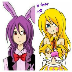 I don't about y'all, but I ship Bonnie and Toy Chica