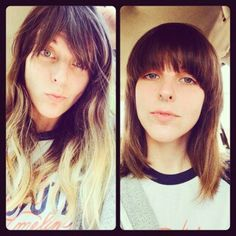 Switching it up with Kelli T. #tribecasalon #kennedyblvd #bangs #hairstyles2014