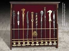 #Harry potter 10 #character wand display.display your #harry potter wand collecti,  View more on the LINK: http://www.zeppy.io/product/gb/2/370866752824/