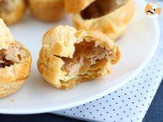 Petits choux au foie gras et confit d'oignon, photo 4