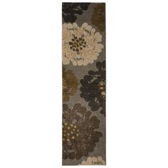 Mohawk Home Flowers Praline Area Rug - Cocoa, runner, $60, Target