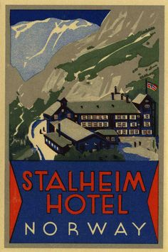 Stalheim Hotel, Norway   by The Texas Collection, Baylor University