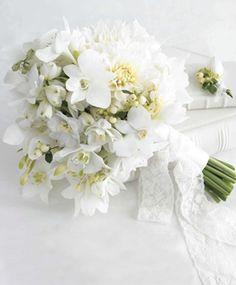 Bouquet branco.