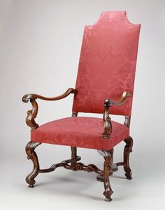 1715 British Armchair in the Royal Collection, UK