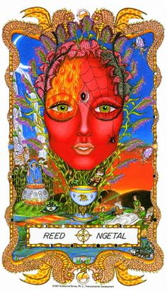 ☆ Reed Ngetal » Fr0m: The Faces of WomanSpirit A Celtic Oracle of Avalon :¦: By Katherine Torres, Ph.D. ☆