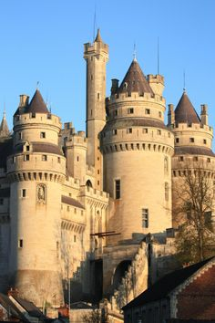Castles In Wales, England, France.locations Where The Bbc's Merlin Is Filmed. Beautiful Castles, Beautiful Buildings, Beautiful World, Beautiful Places, Chateau Medieval, Medieval Castle, Castle Ruins, Castle House, Palaces