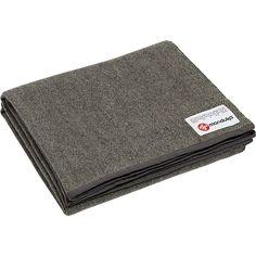 Manduka - Recycled Wool Blanket - Sediment