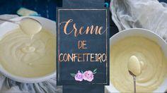 CREME DE CONFEITEIRO (Creme patissière ) - YouTube