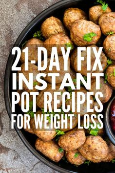 10 21 Day Fix Instant Pot Recipes | From easy chicken, pork, and beef-based meals, to vegetarian and vegan options, to simple soups and comfort foods, this collection of simple and easy 21 Day Fix instant pot recipes is your ticket to delicious weight loss that lasts! #21dayfixinstantpot #21dayfixrecipes #21dayfixmealprep