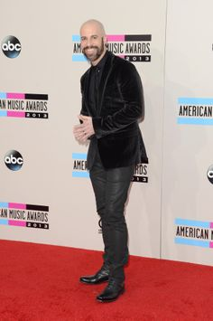 Chris Daughtry -- Chris Daughtry attends the 2013 American Music Awards at Nokia Theatre L.A. Live on November 24, 2013 in Los Angeles, California. (Photo by Jason Merritt/Getty Images)