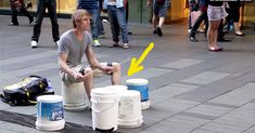 WOW! When I watched this drummer playing on buckets, he blew my mind! People rushed over to give him money…Continue Reading