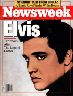 Elvis Presley Newsweek Magazine August 3rd, 1987