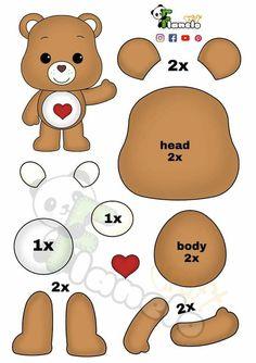 Felt Animal Patterns, Felt Crafts Patterns, Felt Crafts Diy, Felt Diy, Stuffed Animal Patterns, Baby Crafts, Felt Templates, Animal Crafts For Kids, Plush Pattern