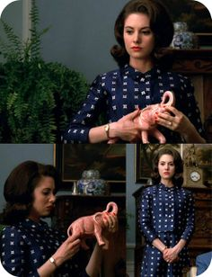A Stitching Odyssey: Mad Men style files - Trudy Campbell Mad Men Fashion, Fashion Tv, 1960s Fashion, Fashion Ideas, Vintage Fashion, Mad Man Serie, Vintage Ladies, Vintage Style, Vintage Woman