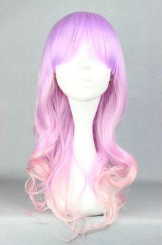 Unicorn girl style wig