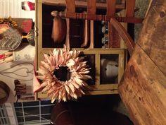 My corn husk wreath