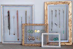 Rangement bijoux (DIY)