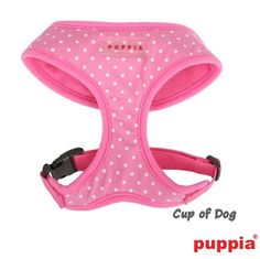 Harnais Puppia Dotty A Pink https://www.cupofdog.fr/collier-harnais-chihuahua-petit-chien-xsl-243.html