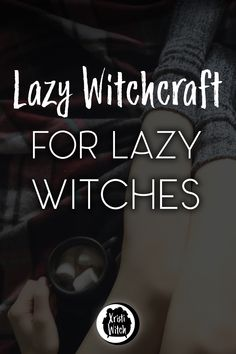 Lazy Witchcraft for the Lazy Witch Xristi Witch Wicca For Beginners, Witchcraft For Beginners, Wiccan Witch, Magick Spells, Wiccan Magic, Witch Rituals, White Magic Spells, Witch Potion, Luck Spells