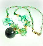 Halskette Gemstone Wonderful, grey Beaded Bracelets, Necklaces, Gemstones, Grey, Shopping, Jewelry, Corks, Great Gifts, Natural Stones
