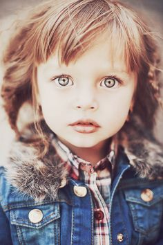little girls, beauty photography, eye colors, big eyes, bright eyes, beauti, plaid shirts, children photography, photography kids