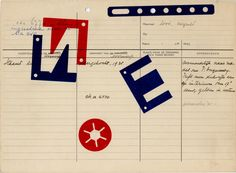 Karel Martens  Untitled, circa 1991  letterpress monoprint on catalogue card from the Stedeljk Museum Amsterdam  11 ³⁄₈ × 8 ¼ in. (288 × 210 mm)