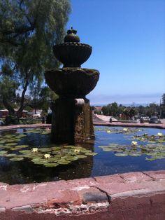 Santa Barbara Mission's fountain