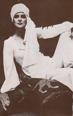 1970s fashion by Biba.