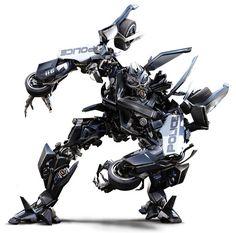 Transformers: Barricade (decepticon)