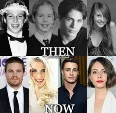 The arrow cast then and now