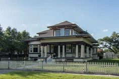 "1822 Broadway, Beaumont, Texas. ""In 1909 this home was the first Bungalow Style home built in booming Beaumont, Texas and is now a historical site.... In the 1960's the home was converted into a coffee house where Janis Joplin performed."