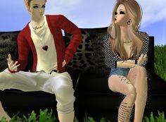 """First Love"" Captured Inside IMVU - Join the Fun!"