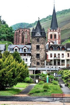 You'll see sights like this on a cruise down the Rhine: Rhein Region - Germany