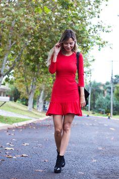 Look Luisa Accorsi - Vestido: byNV | Bota: Chanel | Bolsa: Celine - Comprar online: http://www.bynv.com.br/detalhes.asp?idproduto=1708375