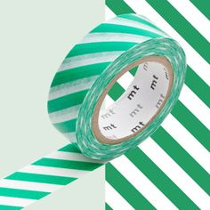 Nastro Masking Tape stripe green - Masking Tape - Shop now on www.lesparigotes.com