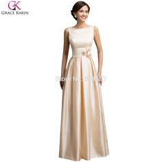 dresses only Picture - More Detailed Picture about Robe De Demoiselle  D honneur Adulte Elegant Grace Karin Long Wedding Party Special Occasion  Formal ... 99c788e69f29