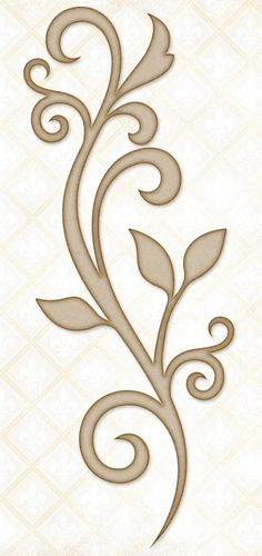 Blue Fern Studios - Chipboard - Blooming Flourish