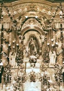 The original image of Nuestra Señora de Guadalupe de Pagsanjan before her destruction during World War Destruction, Filipino, Original Image, Barcelona Cathedral, Nostalgia, Fair Grounds, War, The Originals