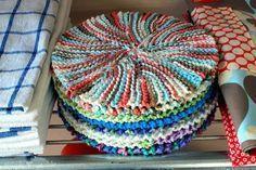 Crazy eights dishcloth …
