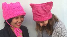 Donald Trump has caused a shortage of pink yarn - continuing a history of knitters' activism.