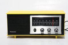 Refurblished Panasonic FM-AM Radio. #etsy #vintage
