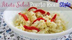 Potato Salad Puerto Rican Style #boricua #puertorican