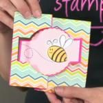 Another Flip It Card from The Stamps of Life.  I can't wait to make this type of card.